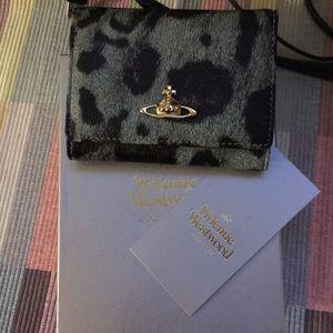 Vivienne Westwood jungle leopard wallet